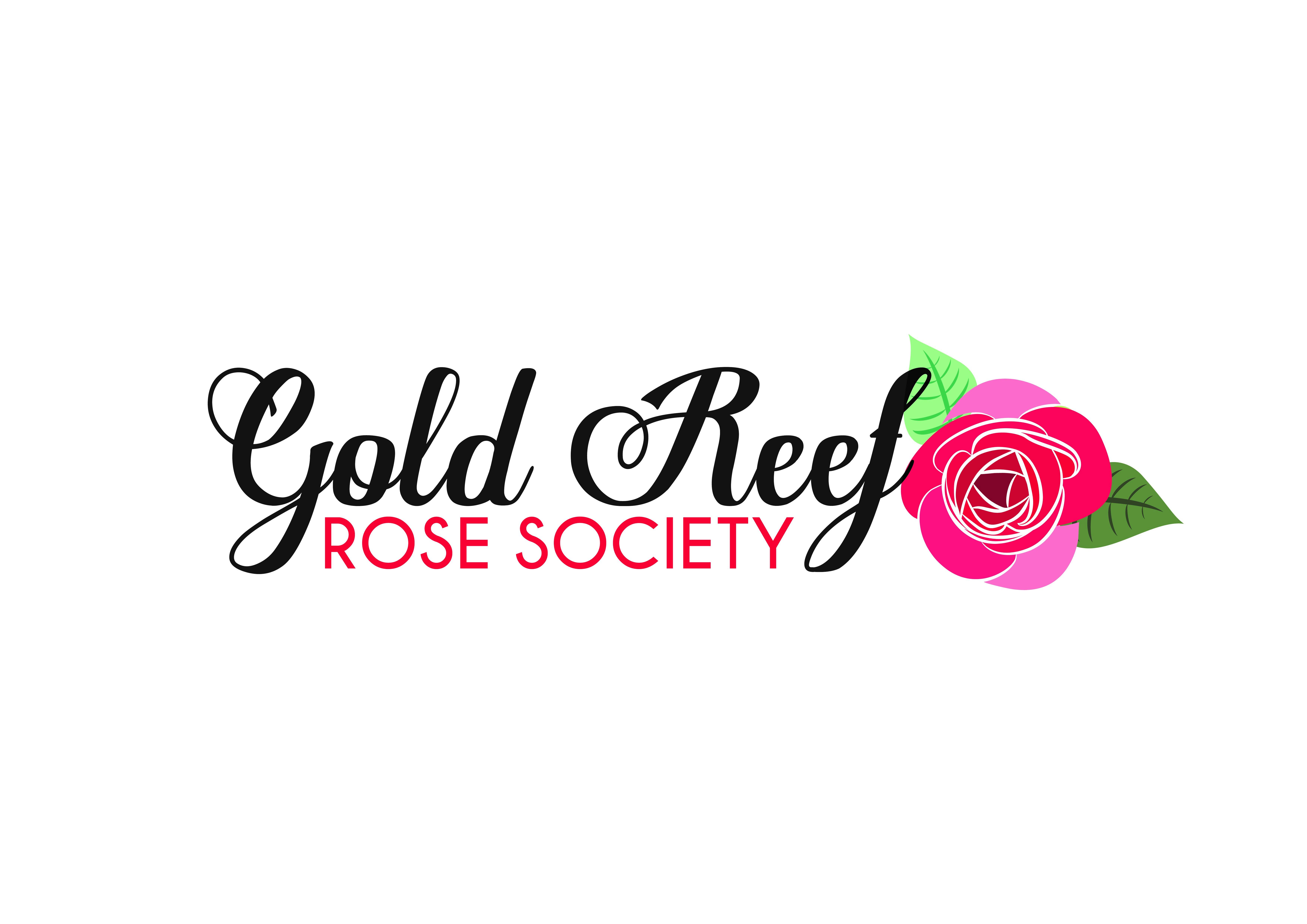 Gold Reef Rose Society logo